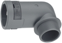 Picture of Connector 90' Elbow M25 Pg21 Grey Ip66