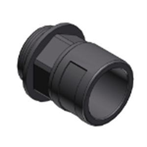 Picture of Connector Straight M20 20mm Grey Ip68