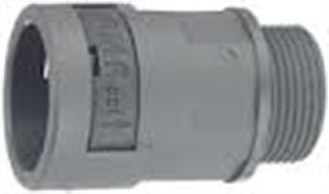 Picture of Connector Straight M16 16mm Grey Ip66