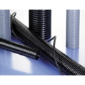 Picture of Fine profile medium wall very flexible black conduit 20mm, 50m